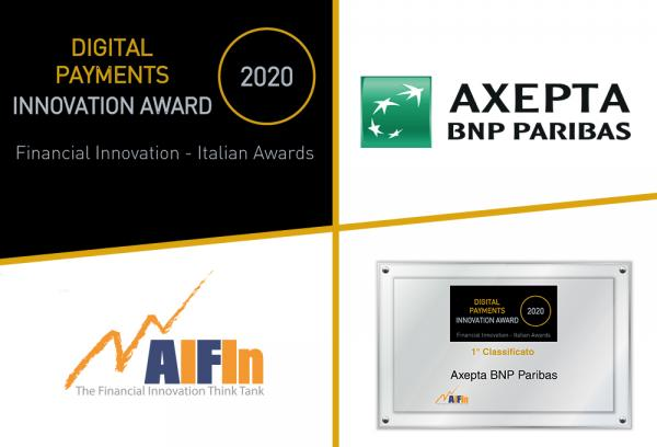 "Ad Axepta il premio AIFIn ""Digital Payments – Innovation Award"" 2020"